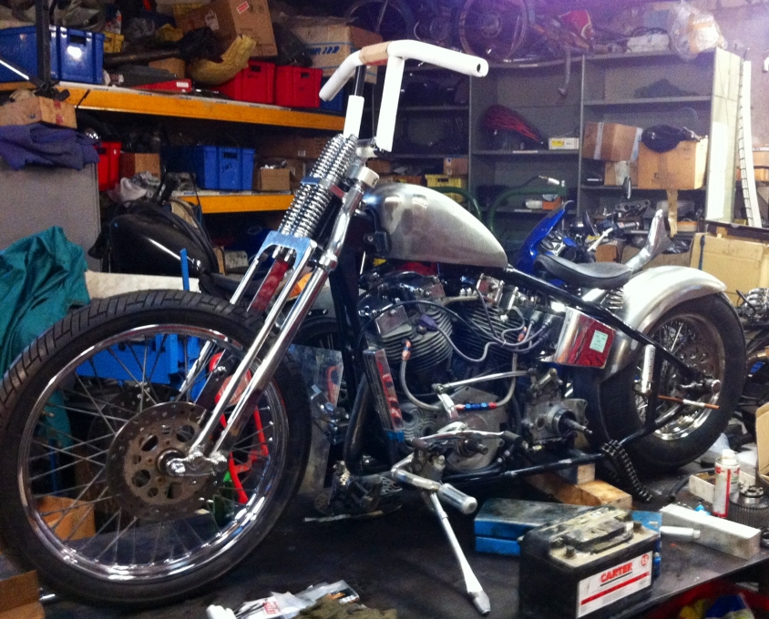 harley davidson early shovel